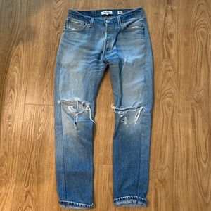 RE/DONE Levi's Original; straight skinny